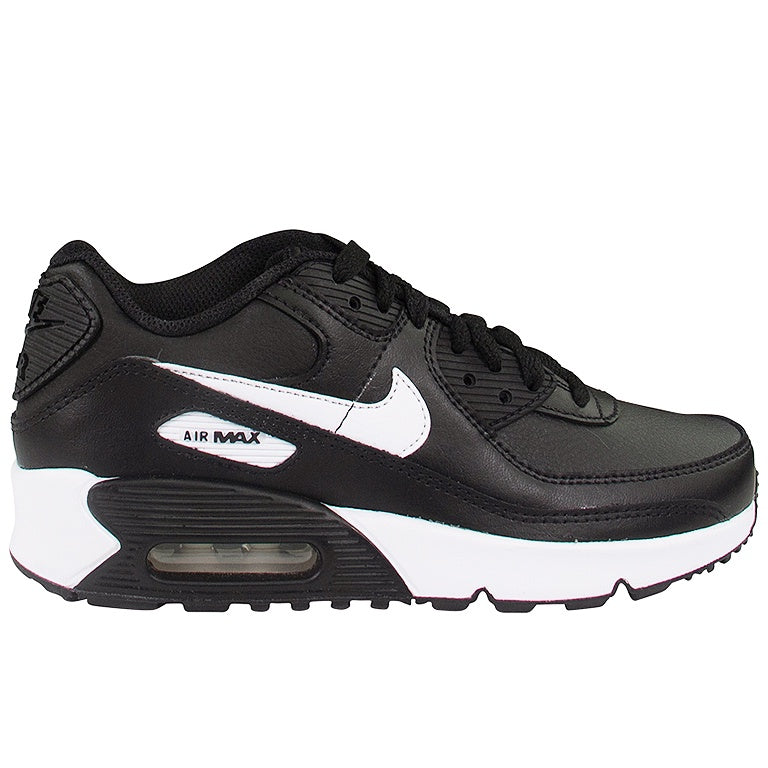 Nike Air Max 90 Leather (GS) Black