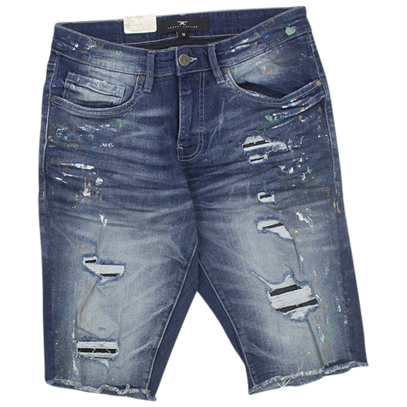 Jordan Craig Parisian Monet Denim Shorts