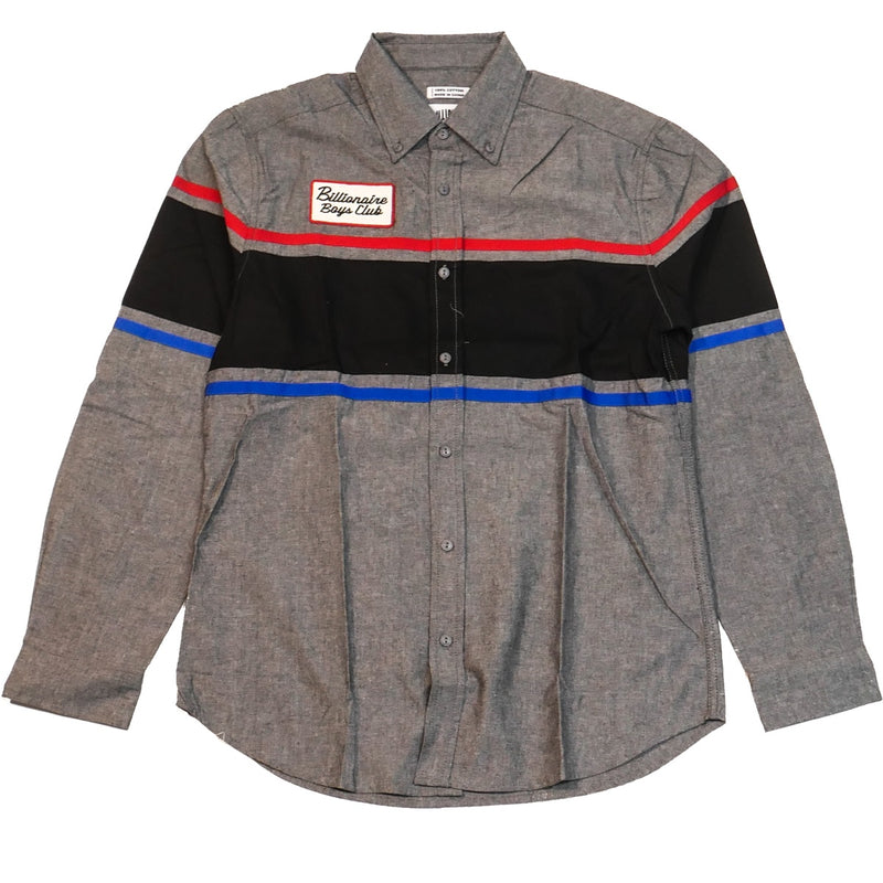 Billionaire Boys Club Service Bay LS Woven Shirt