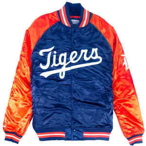 Mitchell & Ness MLB Tough Season Satin Jacket Detroit Tigers