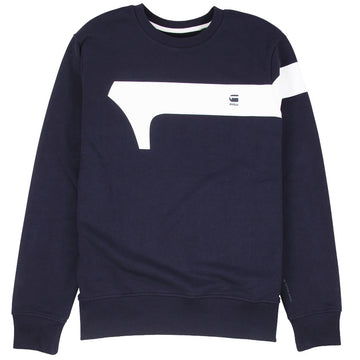 G-Star Raw Graphic 13 Blue Sweatshirt