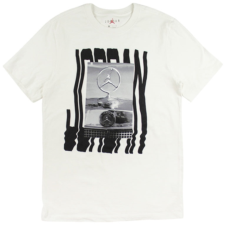 Air Jordan Wavy Photo White T-Shirt