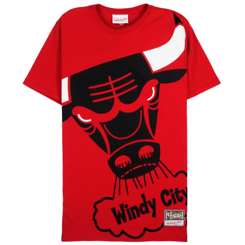 Mitchell & Ness Big Face T-Shirt Chicago Bulls