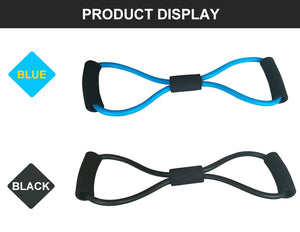8 Word Fitness Rope Resistance Band