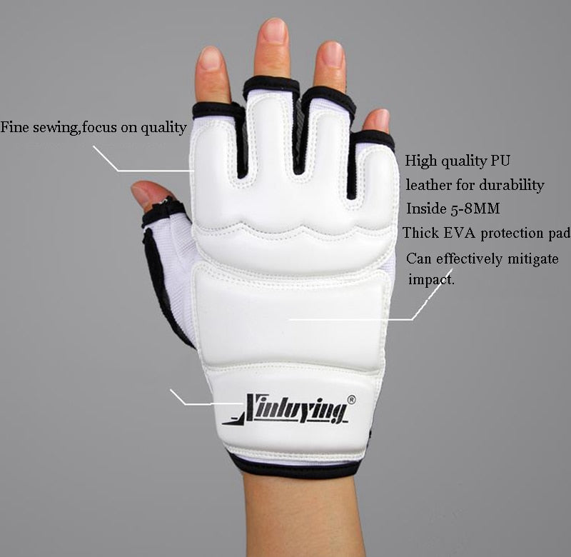 Half Fingers Boxing Training Gloves