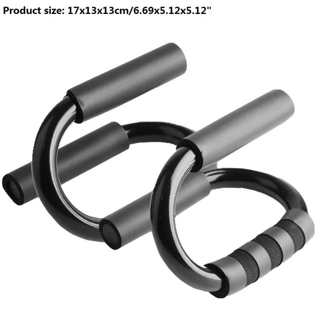 S Shaped Fitness Push Up Bar