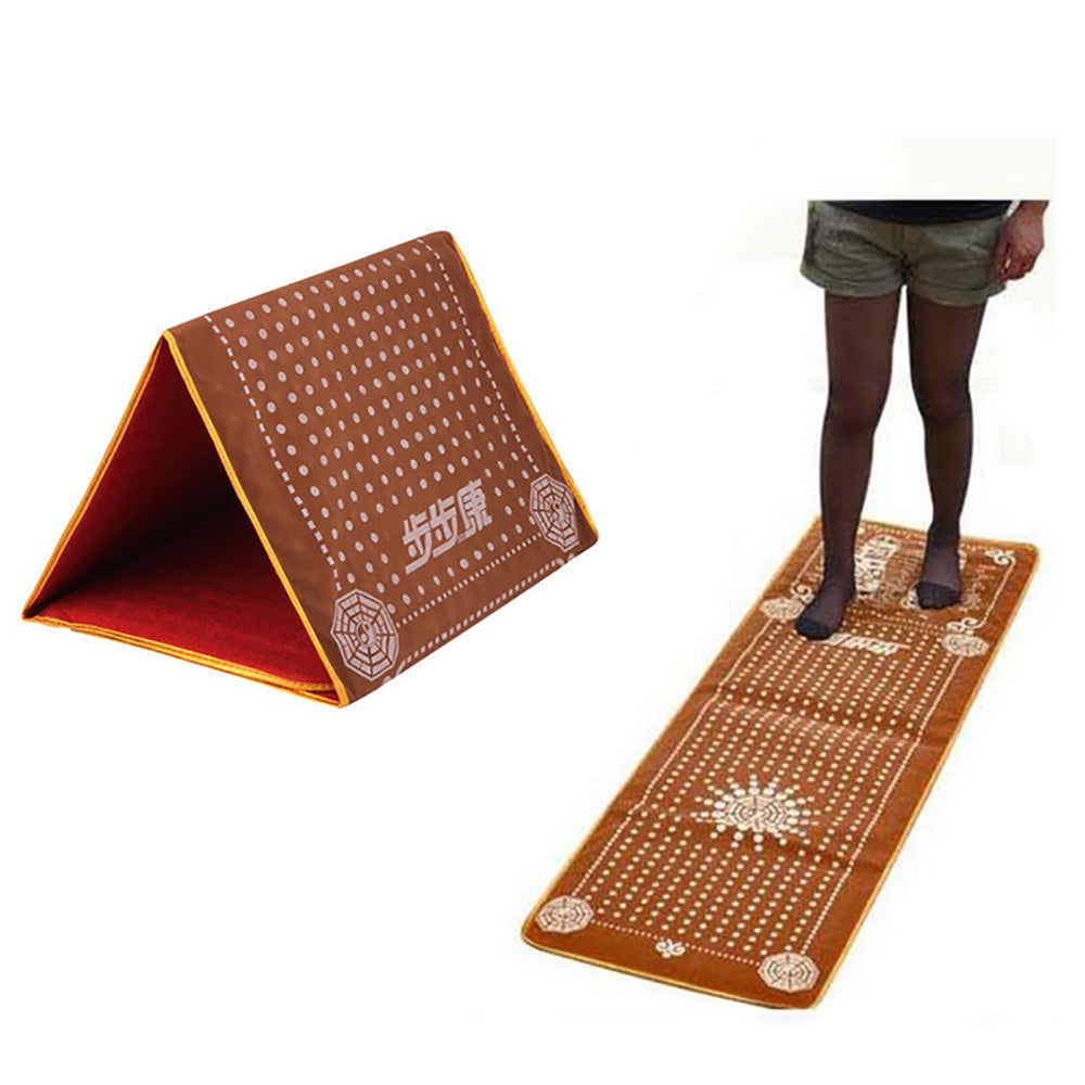 Foot Acupoint Massage Mat Promote Blood Circulation Imitating Pebble Stone