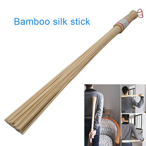 Natural Bamboo Massage Stick Fitness Stick Relieve Fatigue Body Back Relax Health Care For Old