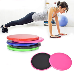 Yoga 2Pcs Exercise Sliding Gliding Discs