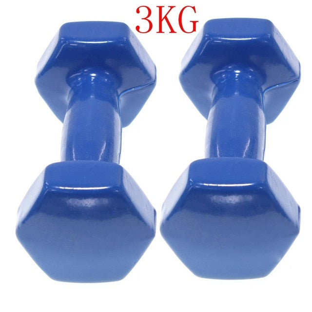 Set 2 Cufflinks clad Vinyl | Exercise Fitness | Traning in single home | Fitness | Weights 0.5-6Kg