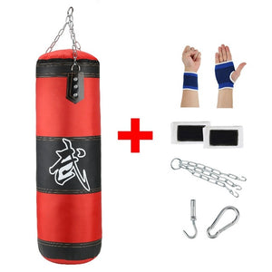 Professional  Boxing Punching Bag Training Fitness With Hanging Kick Sandbag