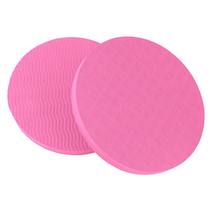 Portable Small Round Fitness Yoga Pad