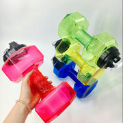 Dumbbell Shaped Large Water Bottle