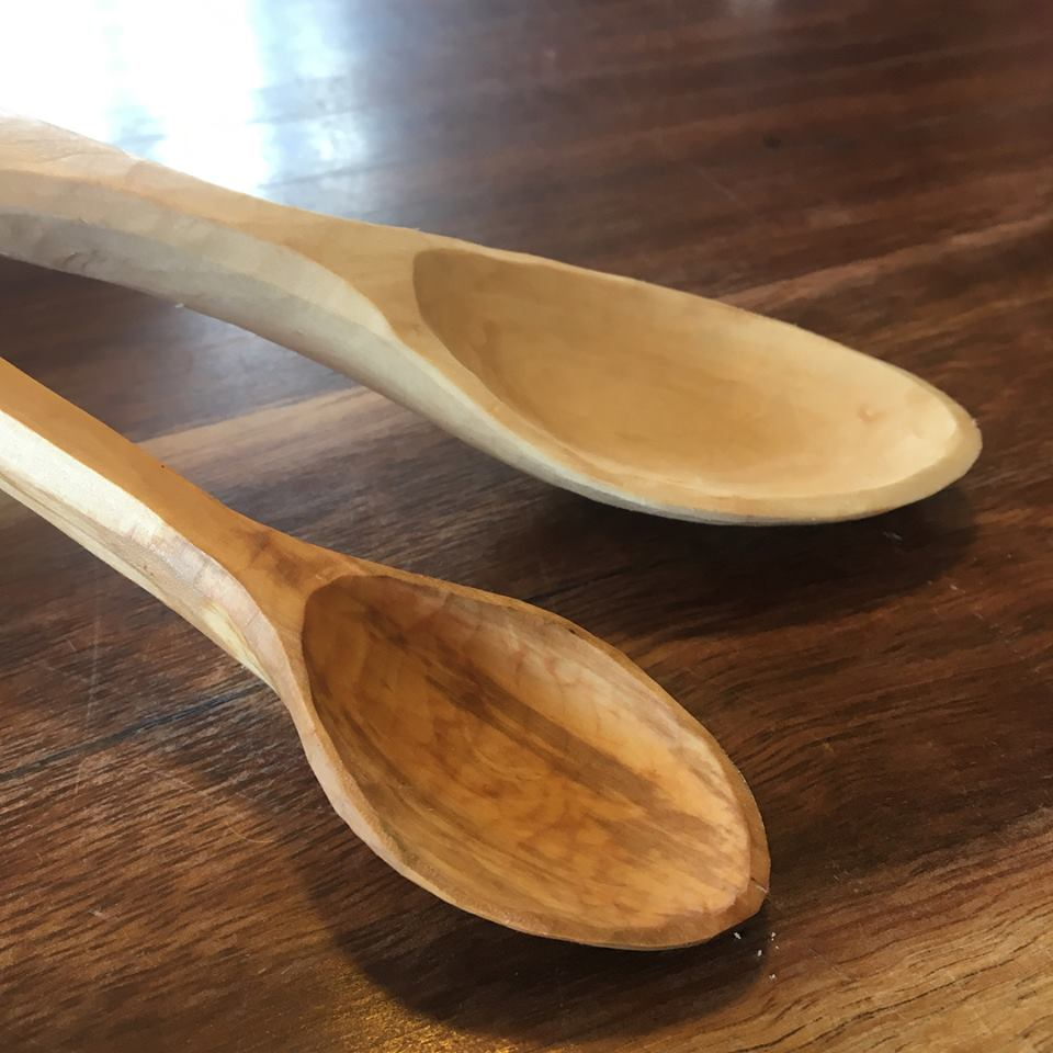 "*Spoon Carving ""Next Level"" with Georgina Donovan and Jill Day 8th March 1 day. Location Blue Mountains"