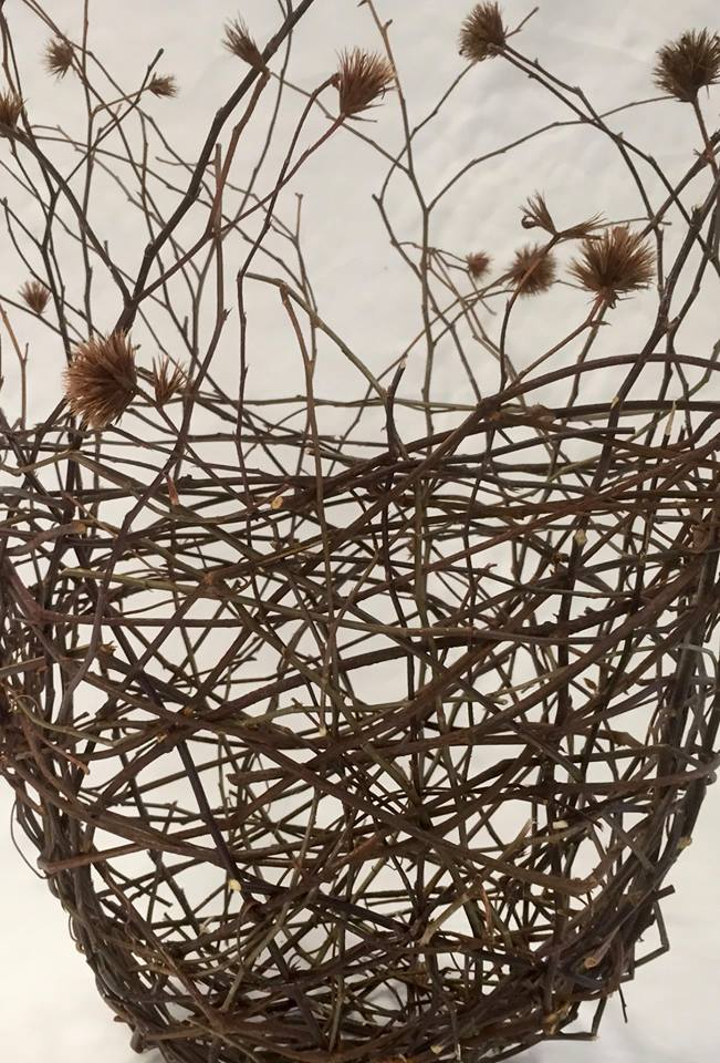 * Random weave Basketry with Jillian Culey 15th June