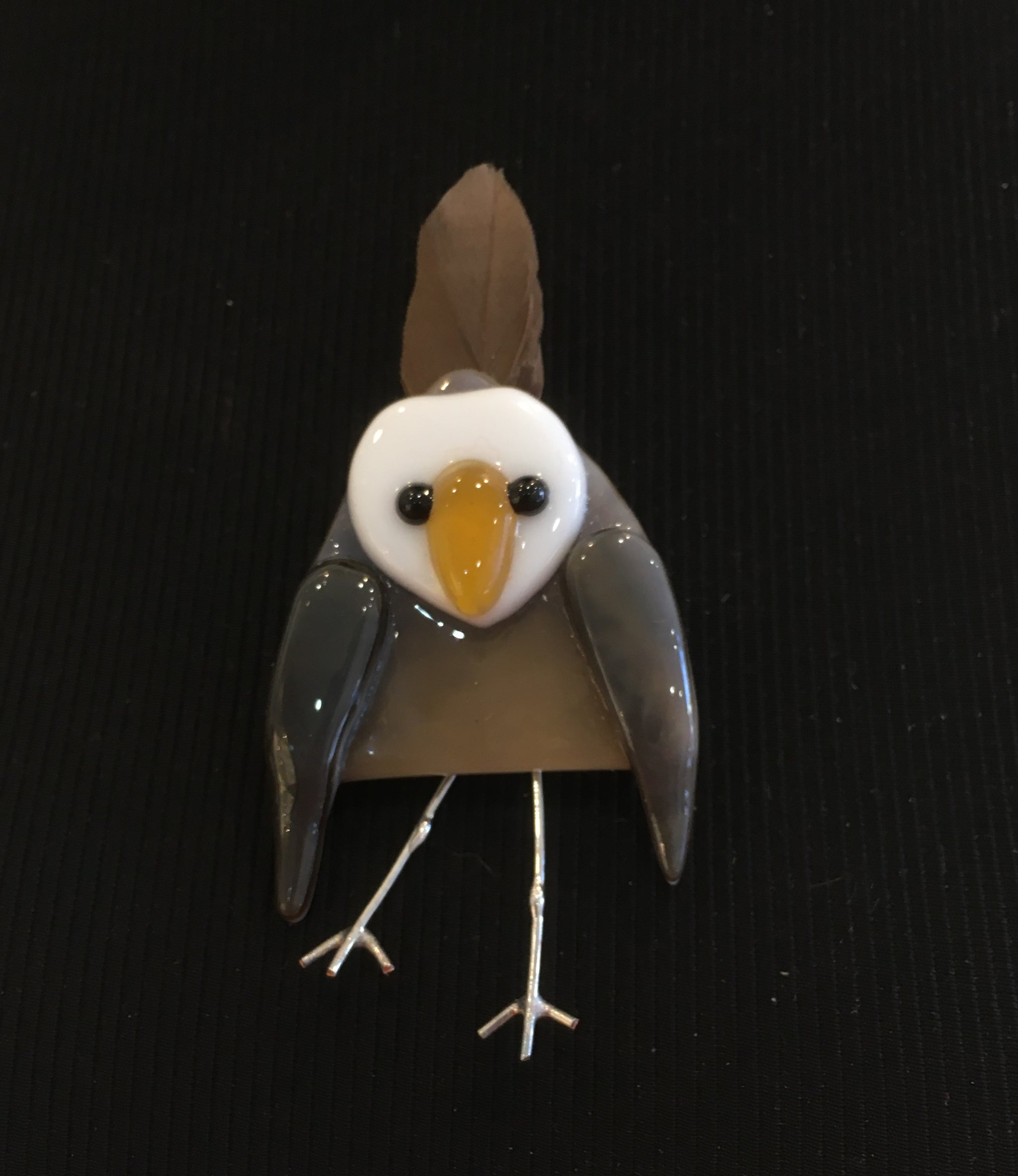 Bird brooch at Craft NSW
