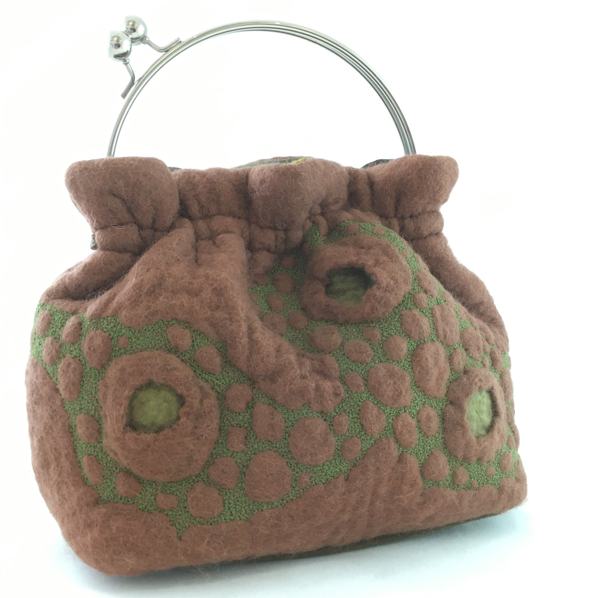 Puff bag by Helen Macritchie