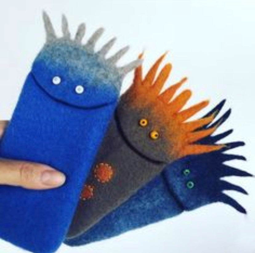 *Felted case and glasses case with Vera Alexanderova 11th April