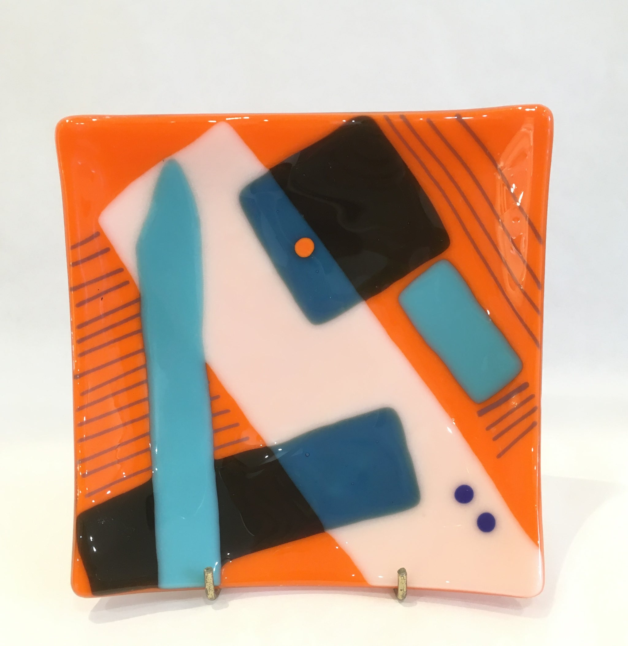 Fused glass by Margot Alexander