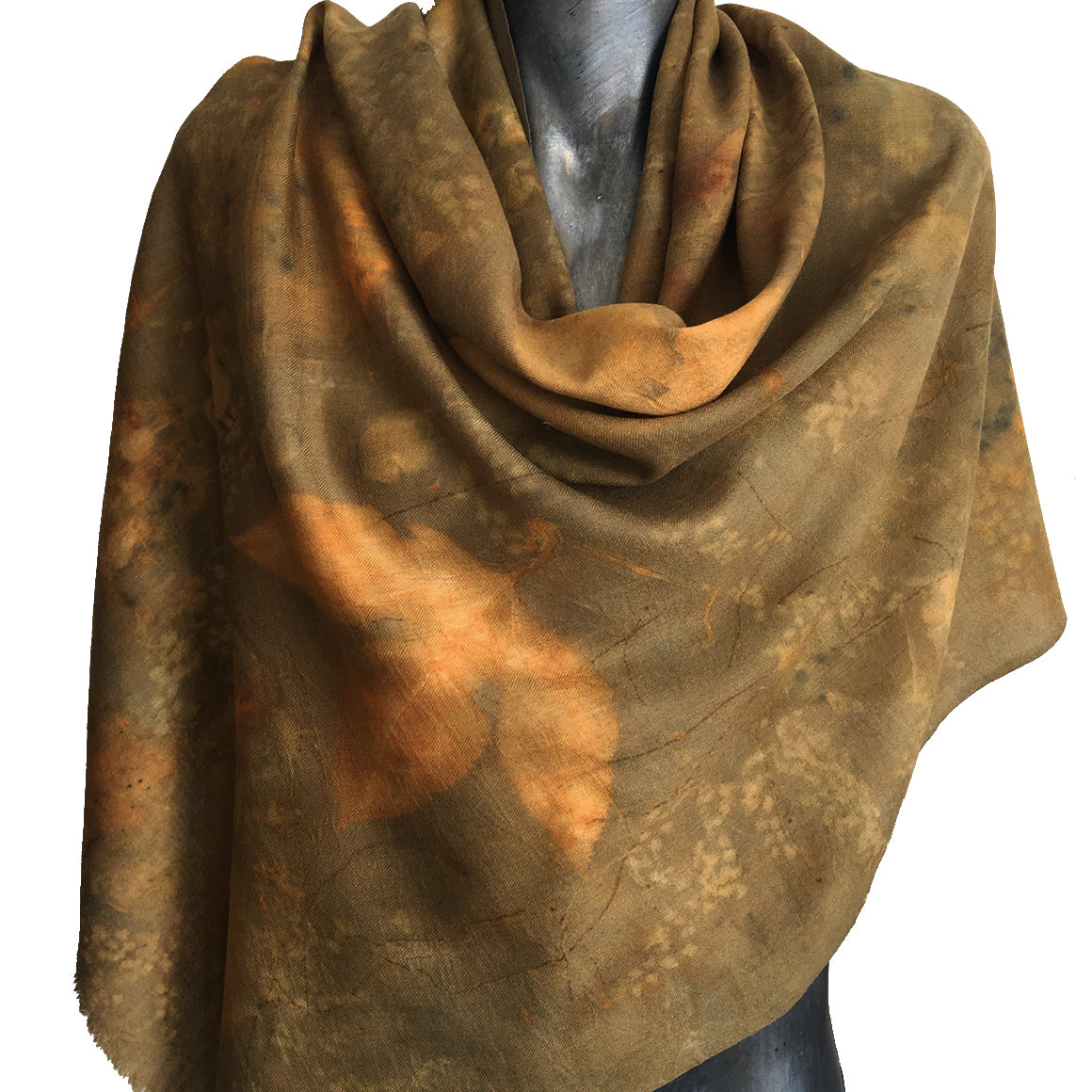 Merino wool/Silk SHAWL by Yaja Hadrys