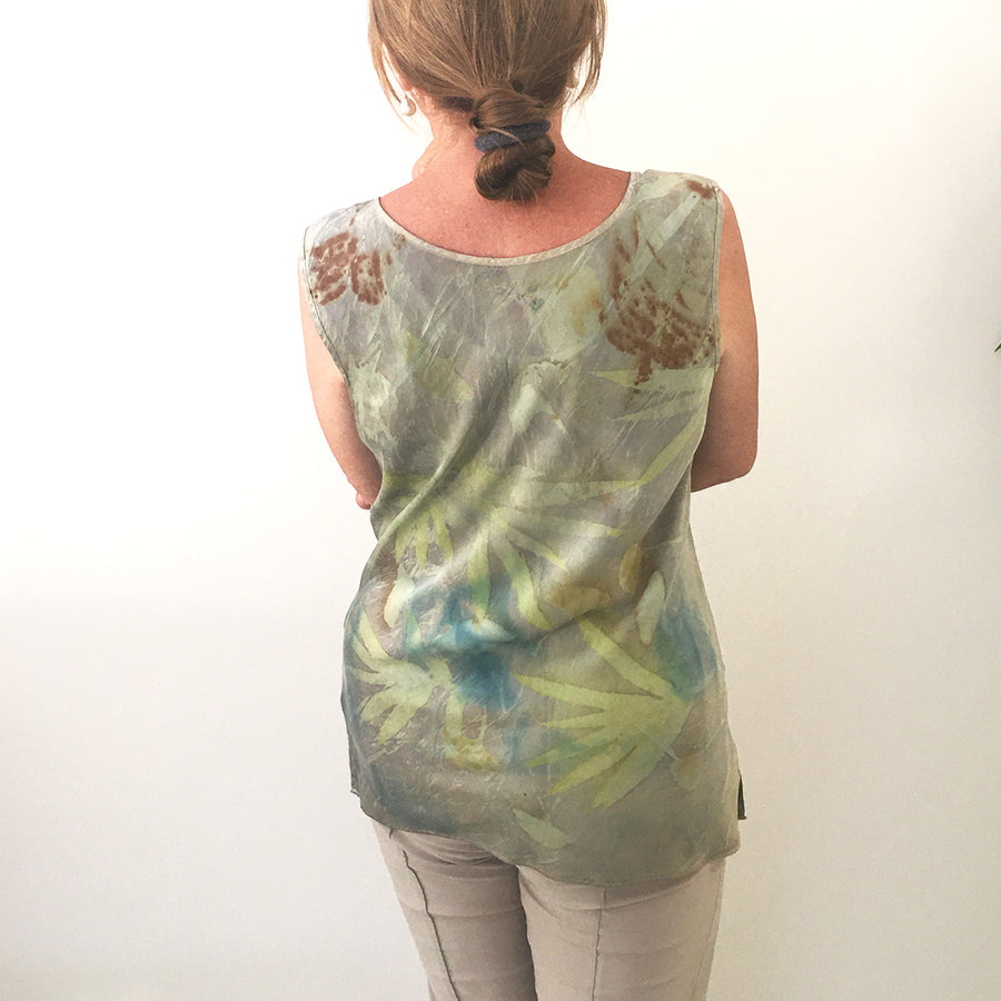Silk tank top by Yaja Hadrys