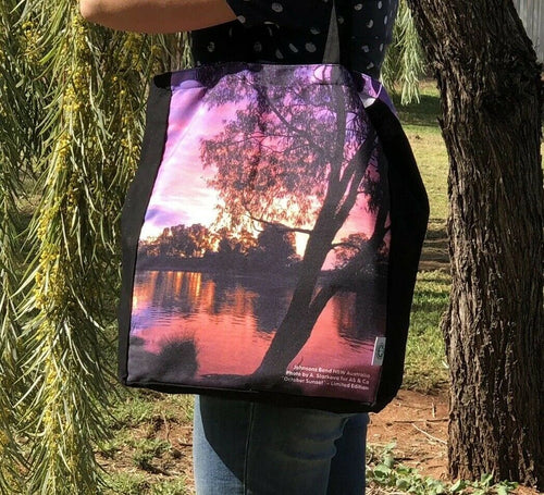 October Sunset Large Shopping Bag 'Johnson's Bend' Sunraysia - Limited Edition