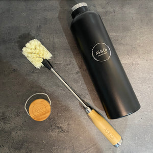 Bamboo Handle Drink Bottle Cleaning Brush