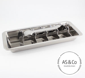 Stainless Steel Ice Cube Tray