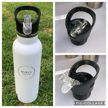 Load image into Gallery viewer, Alternative Lids for Stainless Steel Insulated 350ml, 600ml & 1000ml Reusable Drink Bottles