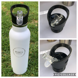 Alternative Lids for Stainless Steel Insulated 350ml, 600ml & 1000ml Reusable Drink Bottles