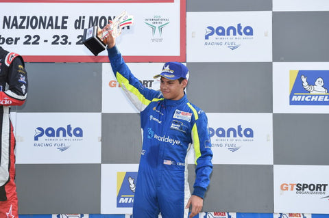 Podium visit rounds off a challenging weekend