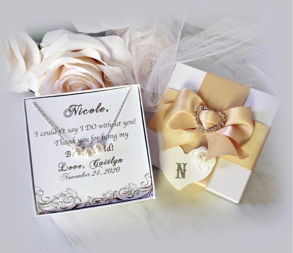Wedding - Bridal Party Jewelry Gifts