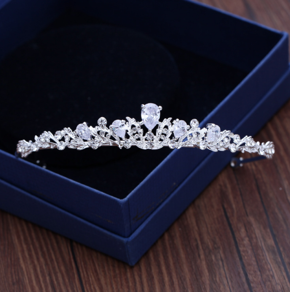 Wedding Cubic Zirconia Tiara