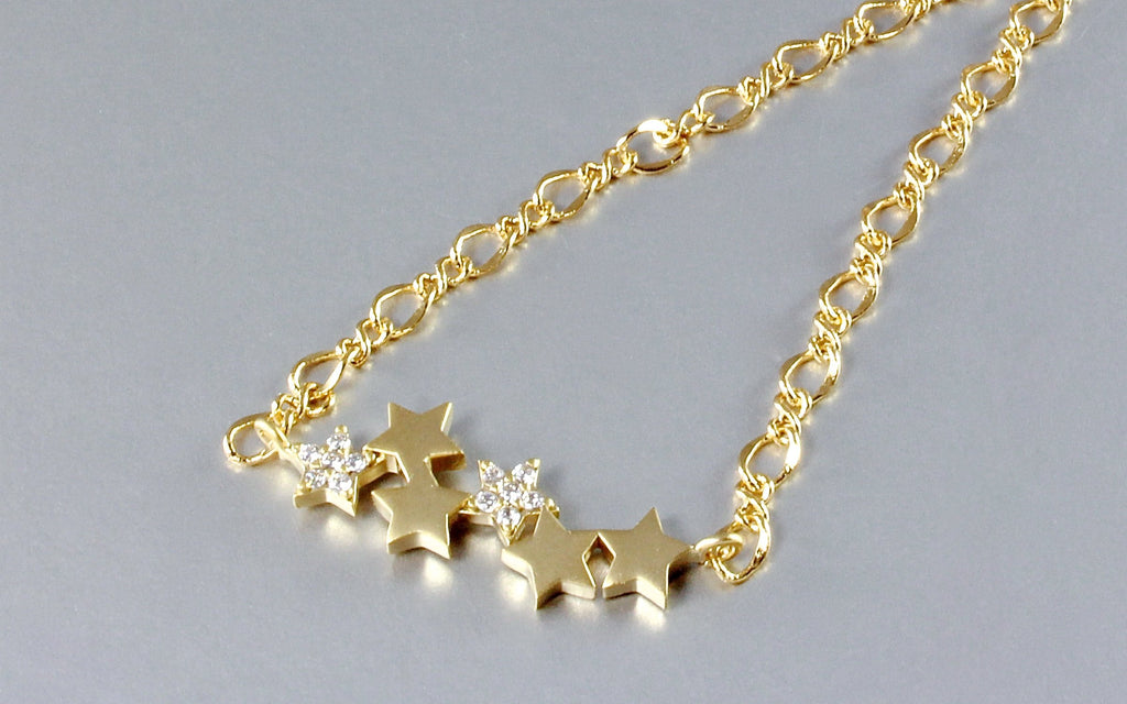 """Rising Star"" - Star Necklace - Minimalist Jewelry"