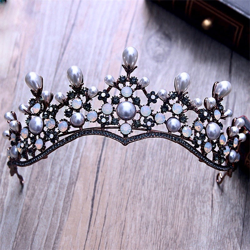 Wedding Hair Accessories - Baroque Vintage Bridal Tiara