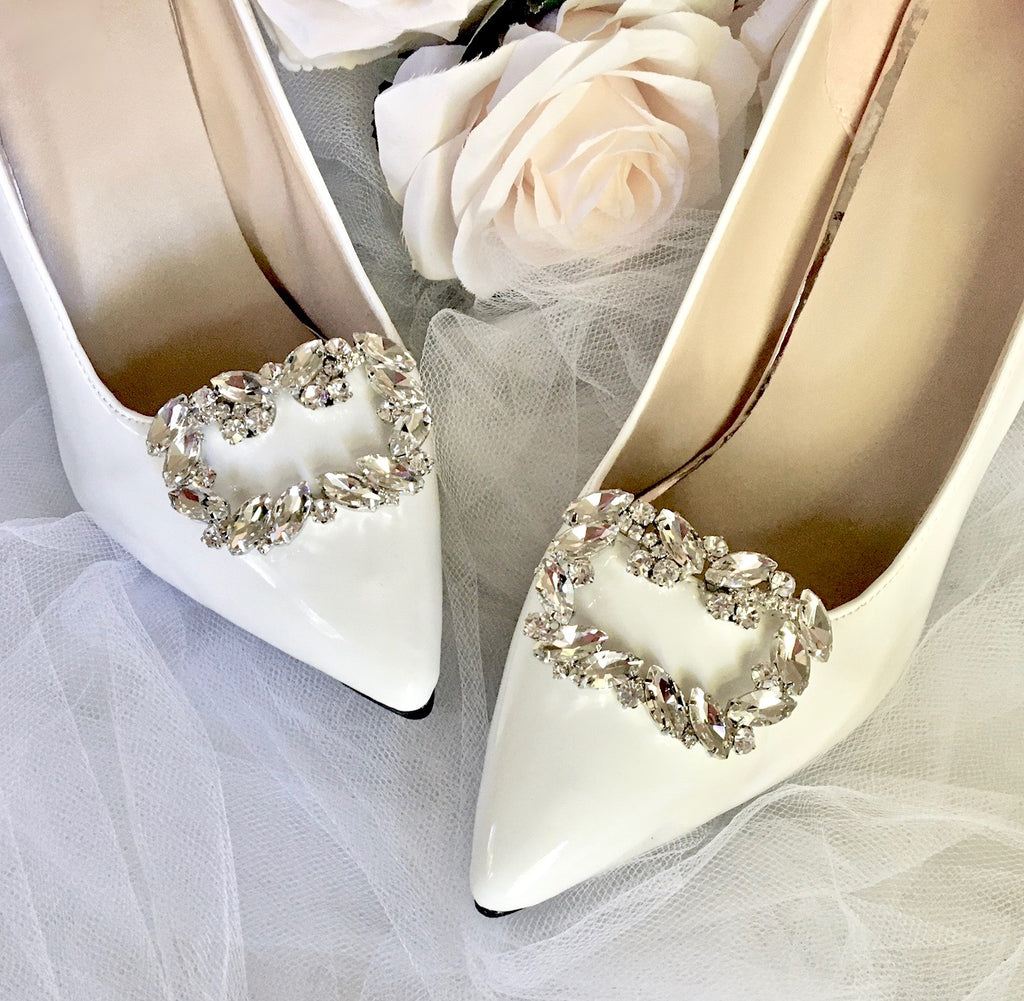 Wedding Accessories - Crystal Bridal Shoe Clips