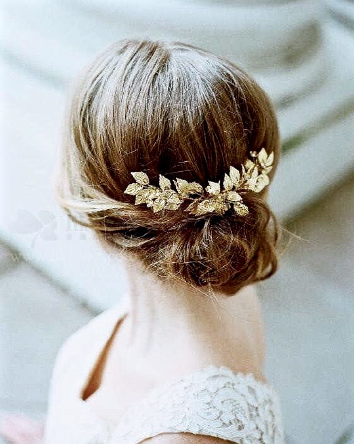 Wedding Hair Accessories - Silver Bridal Double Hair Comb