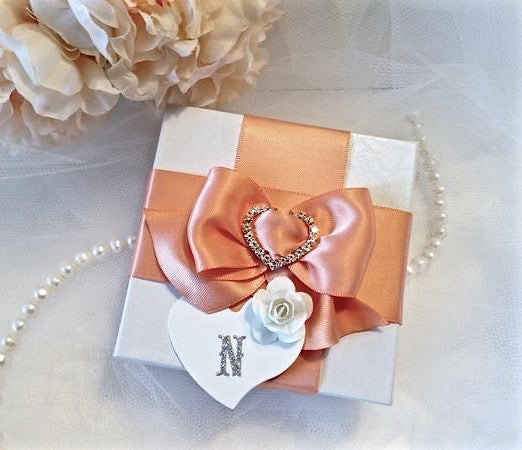 """Rochelle"" - Sterling Silver, Rose Gold and Cubic Zirconia Necklace"