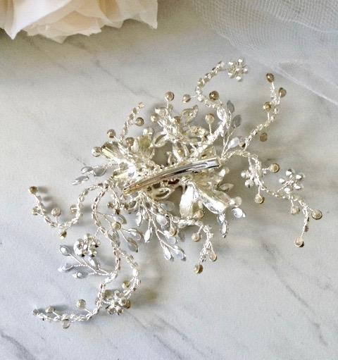 Wedding Hair Accessories - Crystal Bridal Hair Clip/Vine