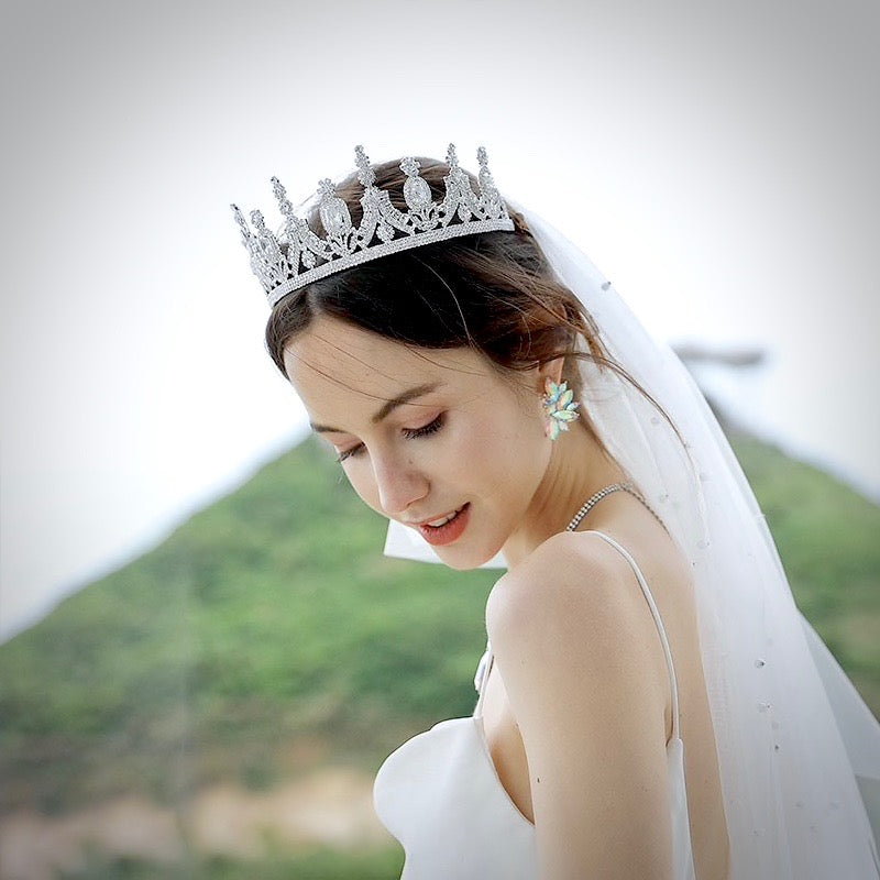 Wedding Hair Accessories - French Glamour Bridal Tiara