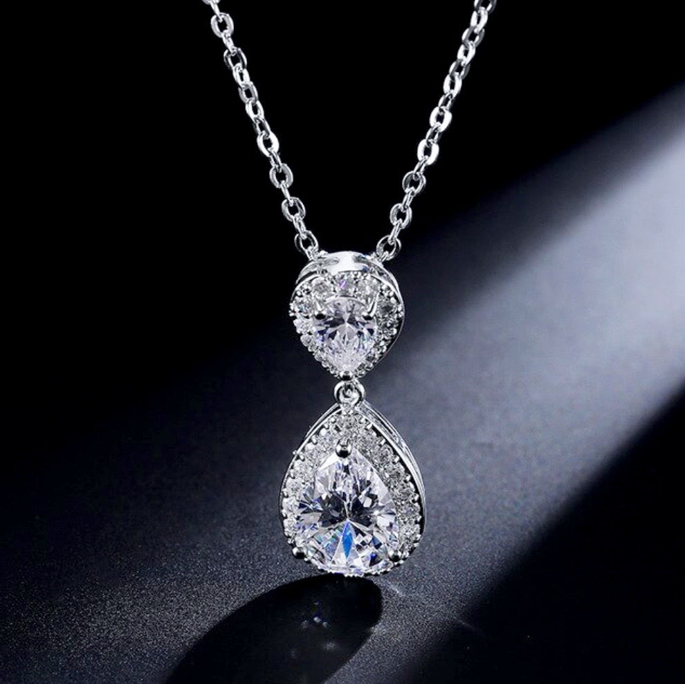 Wedding Jewelry - Cubic Zirconia Bridal Jewelry Set