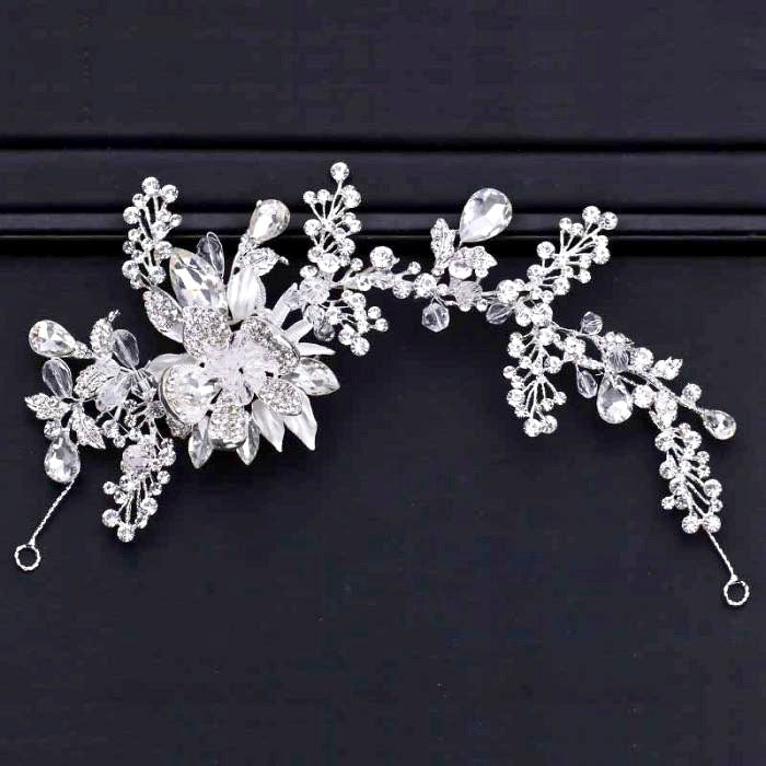 Wedding Hair Accessories - Austrian Crystal Bridal Headband / Hair Vine