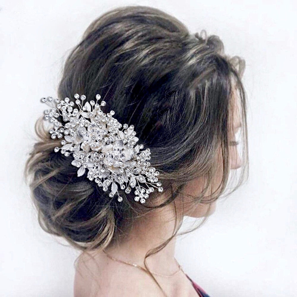 Wedding Hair Accessories - Crystal Bridal Hair Comb