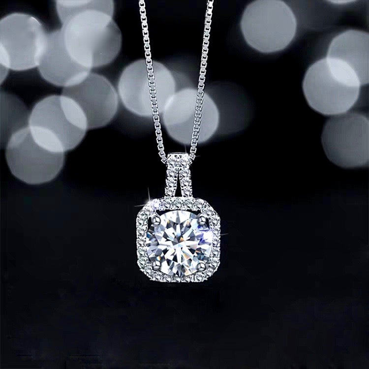 Wedding Jewelry - Cubic Zirconia Bridal Necklace and Earrings Set