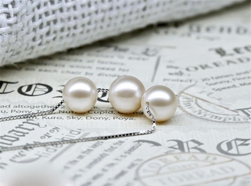 Wedding Jewelry - Pearl Bridal / Bridesmaids Necklace