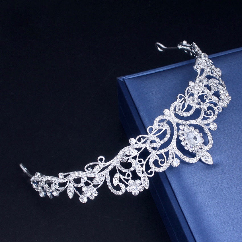 Wedding Hair Accessories - Bridal Crystal Tiara