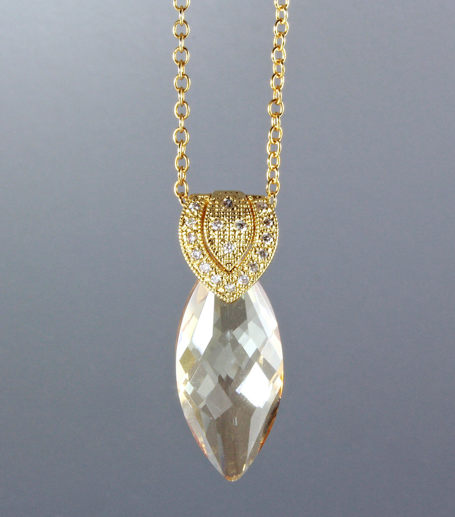 """Rayna"" - Swarovski Crystal Necklace"