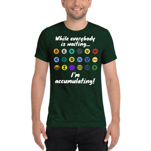 Accumulating Cryptocurrency T-Shirt
