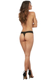 Stretch Lace Low-Rise Thong