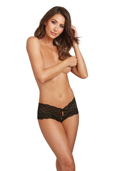 Heart Cutout Lace Panty